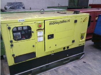Perkins 20 KVA  SILENT - construction machinery