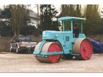 ROULEAU STATIQUE TRICYCLE ZETTELMEYER M10- ANNEE 1967- - construction machinery