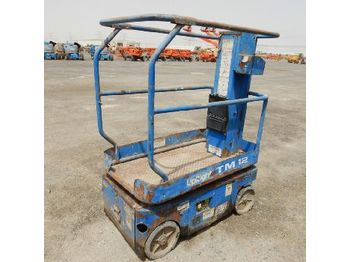 Scissor lift UpRight TM12