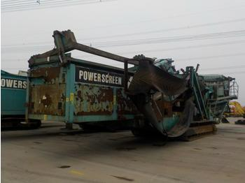 2007 Powerscreen Chieftain 2100X - screener