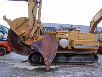 Vermeer T 650 disc trencher - construction machinery