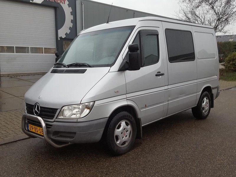 Super Closed box van Mercedes-Benz Sprinter 216 CDI 2.7 (156 PK) L1H1 HV-08