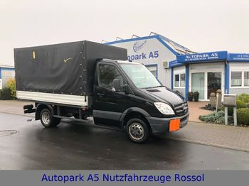 Mercedes-Benz CDI 513 Sprinter Pritsche + Plane Euro 5  - curtain side van