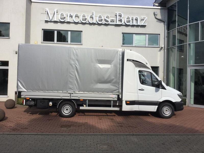 curtain side van mercedes-benz sprinter 316 cdi 8pal spojkar truck
