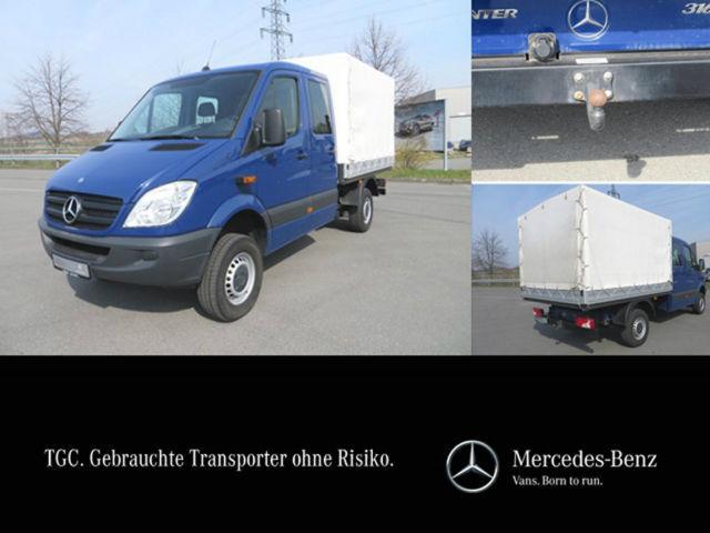 open body delivery van mercedes-benz sprinter 316 cdi, doka, 4x4