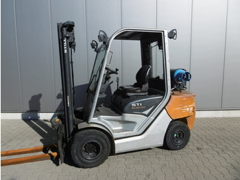 4-wheel front forklift STILL RC 40-30 T