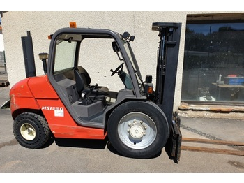 Rough terrain forklift MANITOU msi 25d