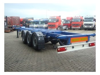 Kässbohrer CONTAINER CHASSIS - container transporter/ swap body semi-trailer
