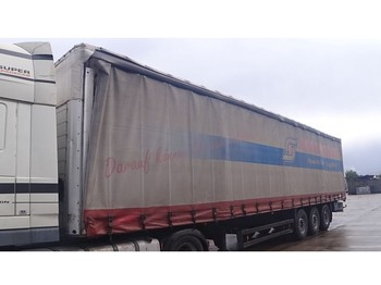 Curtainsider semi-trailer Schmitz Cargobull SAF-AXLES