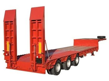 Low loader semi-trailer LECINENA New