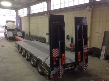 Low loader semi-trailer LIDER NEW 2020 model new by manufacturer Lider Trailer