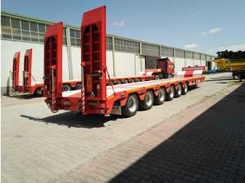 Low loader semi-trailer LIDER NEW 2021