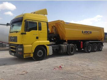 Tipper semi-trailer LIDER 2020 NEW DIRECTLY FROM MANUFACTURER COMPANY AVAILABLE IN STOCK