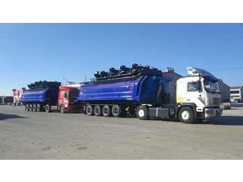 Tipper semi-trailer LIDER 2020 YEAR NEW (MANUFACTURER COMPANY LIDER TRAILER & TANKER )