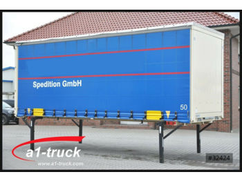 Curtainside swap body Krone 7,45, BDF CODE XL Getränke, DC 9.5 Höhe 2720mm: picture 1
