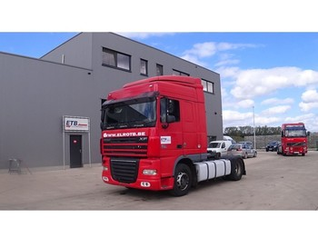 DAF 105 XF 410 Space Cab (MANUAL GEARBOX / BOITE MANUELLE / PERFECT) - tractor truck