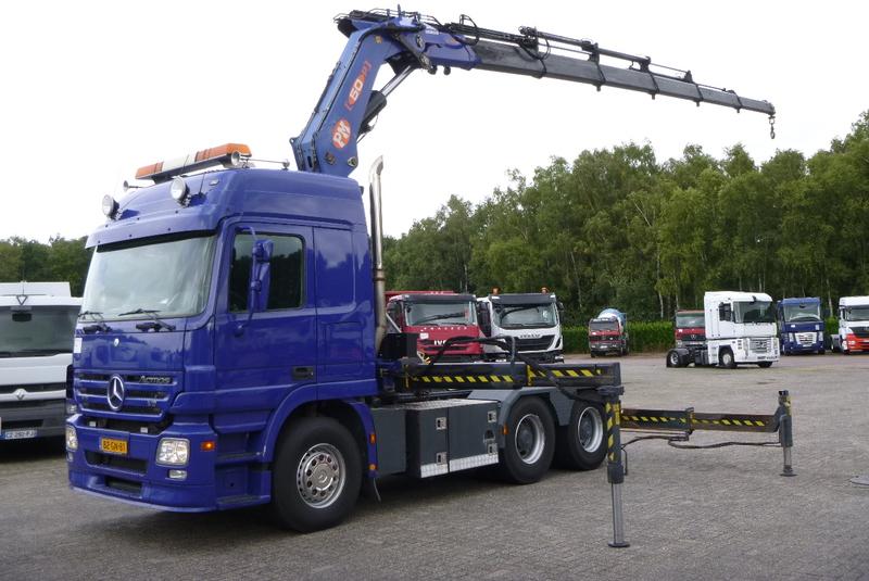 Tractor Truck Mercedes Actros 2650 Ls V8 6x4 Pm50026p 85462 Usd