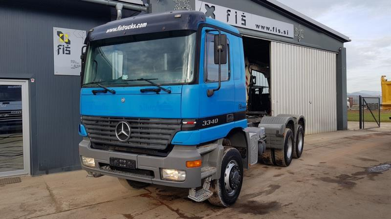Tractor truck Mercedes Benz ACTROS 3340 AS 6X6 tractor unit - SPRING —  3500489