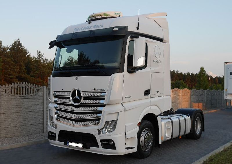 Beste Tractor truck Mercedes-Benz ACTROS MP4 1845 EURO 5 STANDARD SALON BU-35