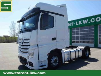 Tractor truck Mercedes-Benz Actros 1845 BIG SPACE, Xenon, Achswaage