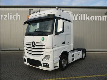 Tractor truck Mercedes-Benz Actros 1845 LS MP4, Big Space, Retarder, 2 Tanks