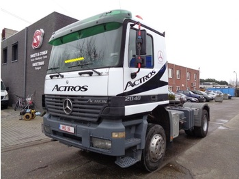 Tractor truck Mercedes-Benz Actros 2040 AS 4x4 Top 1a