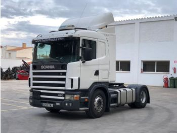 SCANIA 124 420 - tractor truck