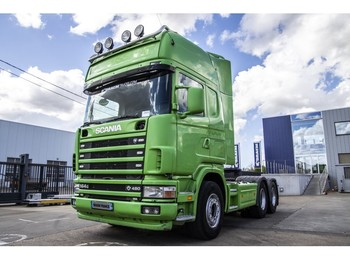 Scania 164G-480-V8+Lames/Spring+Manual+Indarder+hydr. - tractor truck