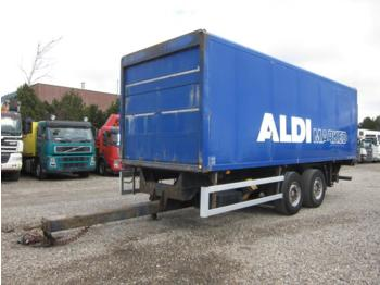 Ackermann 2 axle 18 ton Box - closed box trailer