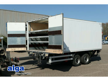 Ackermann Tandem, 11to., Lbw, Hebebühne, Luft, Lichtdach  - closed box trailer