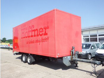 Ackermann Tandem Anhänger Z-LA 5.0 - closed box trailer
