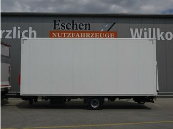 Ackermann Z-KA-F 10,5, 1 Achs, Luft, BPW,  LBW  - closed box trailer