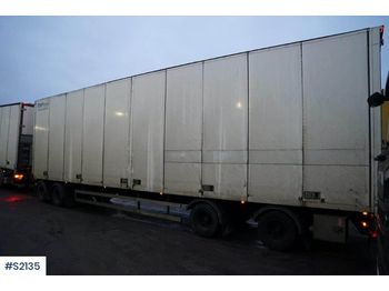 EKERI L/L-4 - closed box trailer