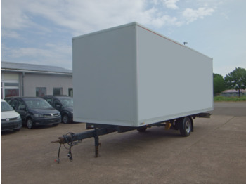 Junge ZPSX05P072 mit Rollladen - closed box trailer