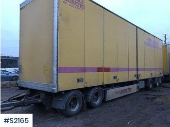 Limetec VPU 438 Box Trailer - closed box trailer