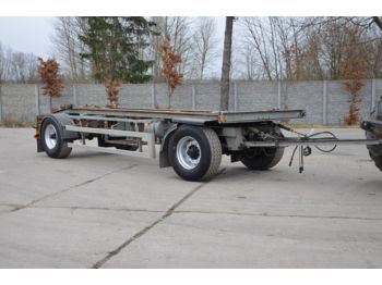 ACKERMANN-FRUEHAUF EAF20-7/15E - steel susp. - container transporter/ swap body trailer