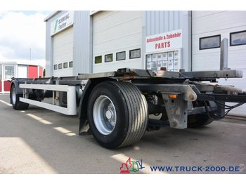 Ackermann EAF18-7.4 Lafette 1.020- 1.320 BPW TüV bis 01/20 - container transporter/ swap body trailer