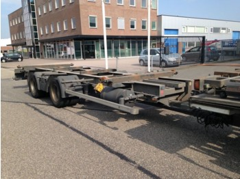 Ackermann Wissel AHW roestvrij - container transporter/ swap body trailer