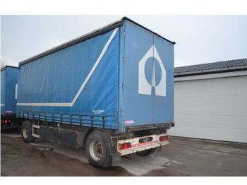 Ackermann 18 to. Schiebeplane, 7350mm, Türen, BPW  - curtainsider trailer