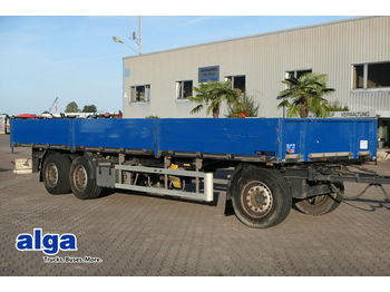 Ackermann 24 to., 9.800mm lang, Luft,  Scheibe, Bordwände  - dropside trailer