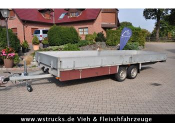 Carbo Tieflader Top Zustand  - low loader trailer