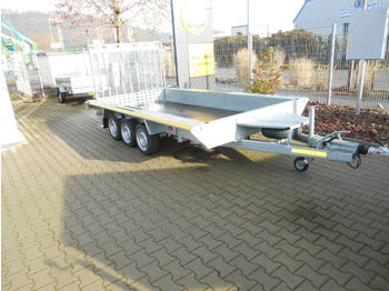 Tieflader 3 Bagger/Baumaschinen Transporter  - low loader trailer
