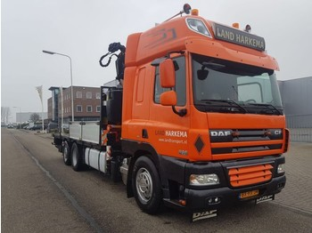 DAF 85 CF 410 Manual Fassi 33 tm - box truck