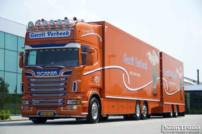 a2593ade3ca2d2 Box truck Scania R730 V8 EEV 6X2 SHOW COMBI SUPER CONDITION HOLLAND COMBI