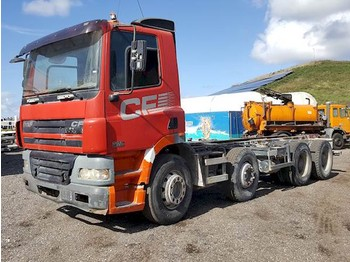 DAF CF85.340 8X4 - cab chassis truck
