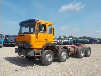 Iveco Magirus 340-34 (GRAND PONT / SUSPENSION LAMES) - cab chassis truck