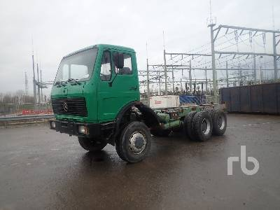 Cab chassis truck MERCEDES-BENZ 2632 6x6 - Truck1 ID - 3372186