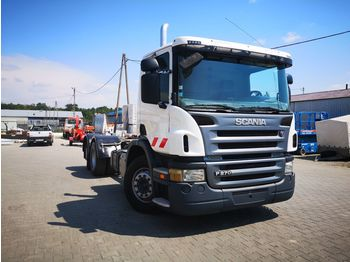 SCANIA P 270 pod zabudowę, for constructions - cab chassis truck