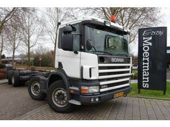 Scania P 114G 340 8x2*6 Fahrgestell  - cab chassis truck