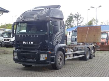 Iveco Stralis 420 6x2 / LBW / Klima / Retarder  - container transporter/ swap body truck